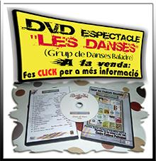 """A la venda el DVD de l'espectacle """"Les Danses"""" del Grup Baladre. (Fes click per a més informació)"""