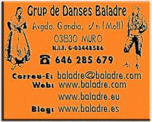 Adressa del Grup de Danses Baladre de Muro