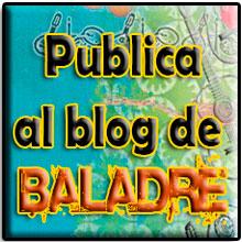 SI VOLS QUE PUBLIQUEM ELS TEUS ESDEVENIMENTS FOLK POTS ENVIAR LA INFORMACIÓ A RAFEL EN: BALADRE@BALADRE.COM