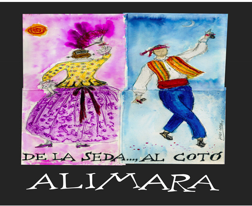 """DE LA SEDA..., AL COTÓ""  - Alimara"