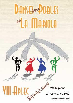 Cartell 8e. AplecMariola - Beneixama 28-07-2012