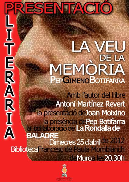 llibre de Pep Gimeno Botifarra a MURO