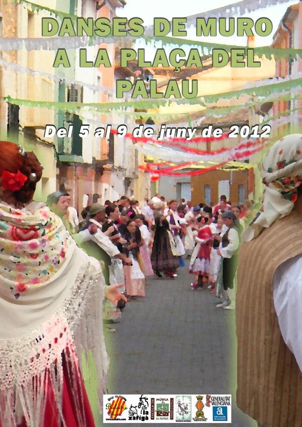 Danses de Muro a la Plaça del Palau, del 5 al 9 de juny de 2012
