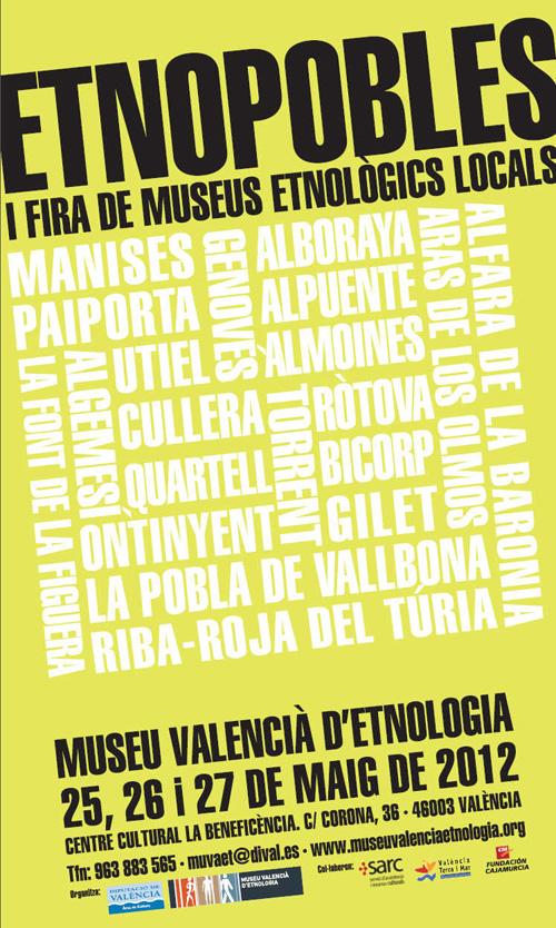 EtnoPobles 1ª Fira de Museus Etnògics Locals
