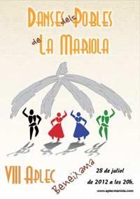 VIII Aplec de Danses de La Mariola (Beneixama 28 de juliol de 2012)