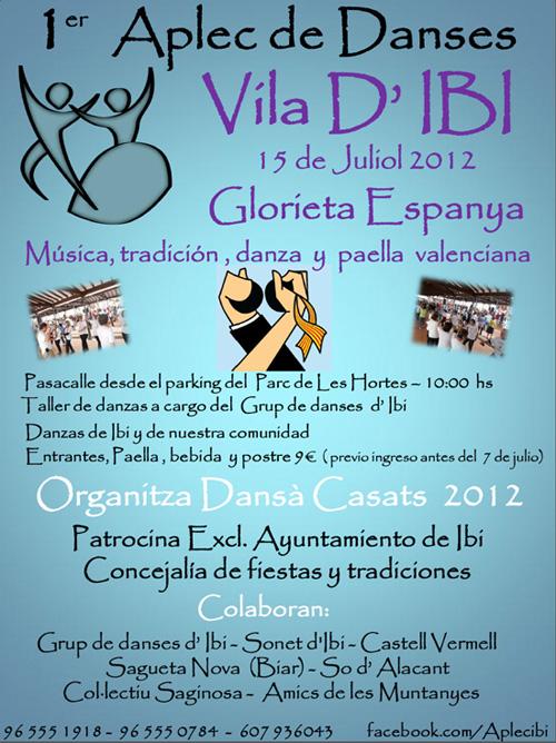 1er. Aplec de Danses Vila d'IBI