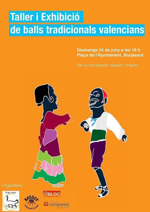 Taller i Exhibició de balls tradicionlas valencians