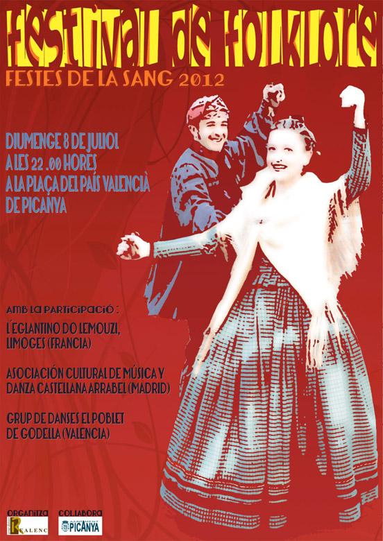 Festival de Folklore Festes de la Sang 2012 - Picanya (València)