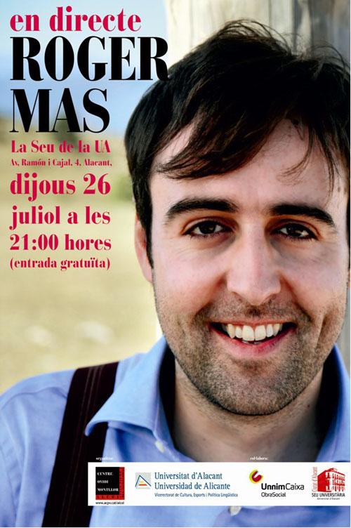 Roger Mas a Alacant el 26-07-2012