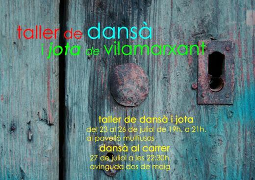 Taller de Dansà i Jota de Vilamarxant - 23 al 26 de juliol 2012