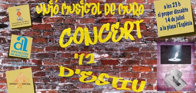 Unió Musical de Muro - Concert d'Estiu 2012
