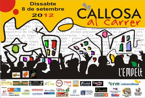 CALLOSA AL CARRER 2012 - 8 de setembre de 2012