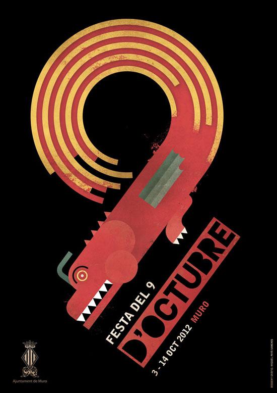 """Muro - """"Festa del 9 d'Octubre"""" del 3 al 14 d'octubre de 2012"""