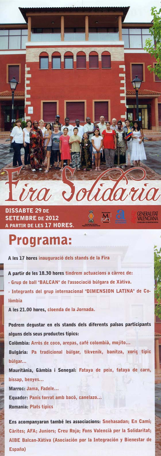Fira Solidaria - MURO 29-09-12