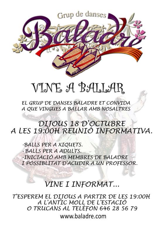 Escola de Ball Baladre - curs 2012-2013