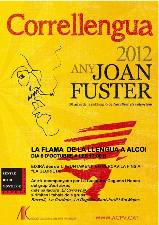 Correllengua 2012 - any Joan Fuster
