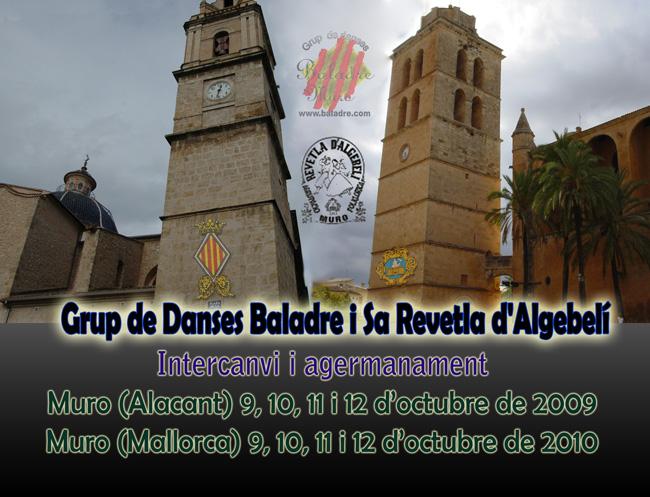 El Grup Baladre de Muro (País Valencià) a Muro (Mallorca)