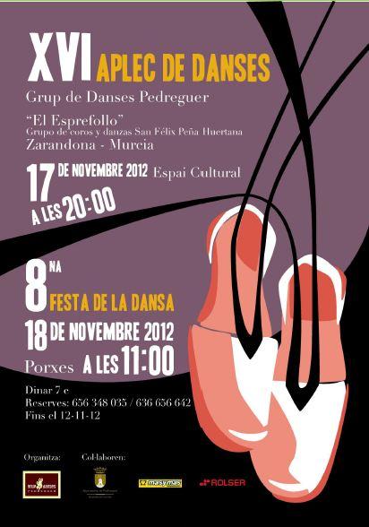 El Grup de Danses Pedreguer - La 8a. Festa de la Dansa.