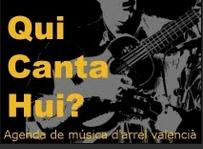 Blog-Agenda de música d'arrel valenciana.