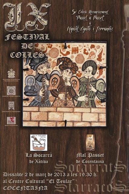 FestivalCollesCocentaina2013
