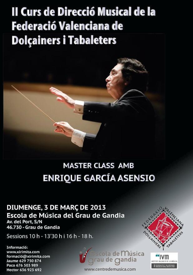 Master Class Enrique Garcia Asensio