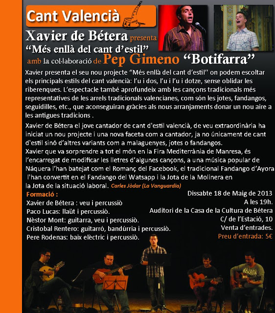 XavierBeteraPresentacioBetera2013