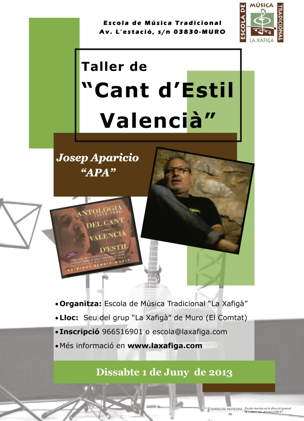"""Taller de """"Cant d'Estil Valencià"""""""