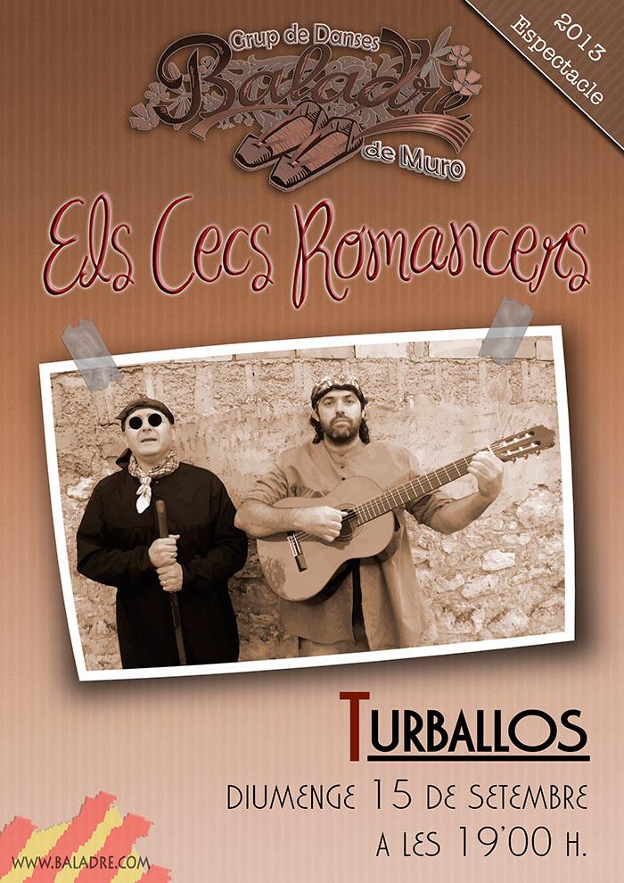 """Espectacle Baladre 2013 – """"Els secs romancers""""."""