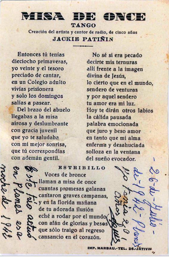 Planes de la Baronia el 26-07-1942