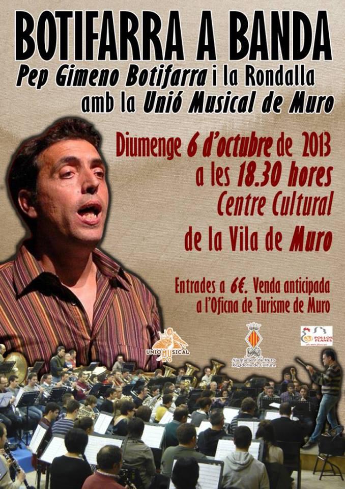Botifarra a Banda, a MURO el 06-10-2013