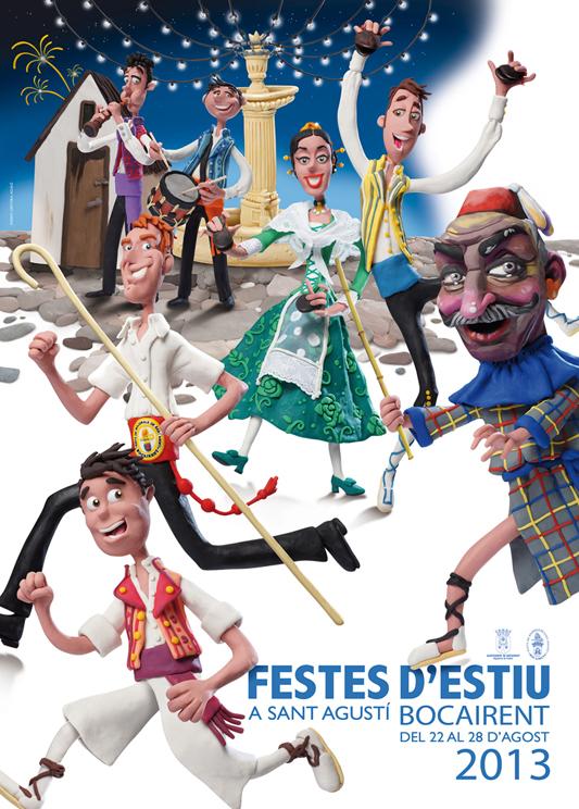 Festes d'estiu a Sant Agustí de Bocairent