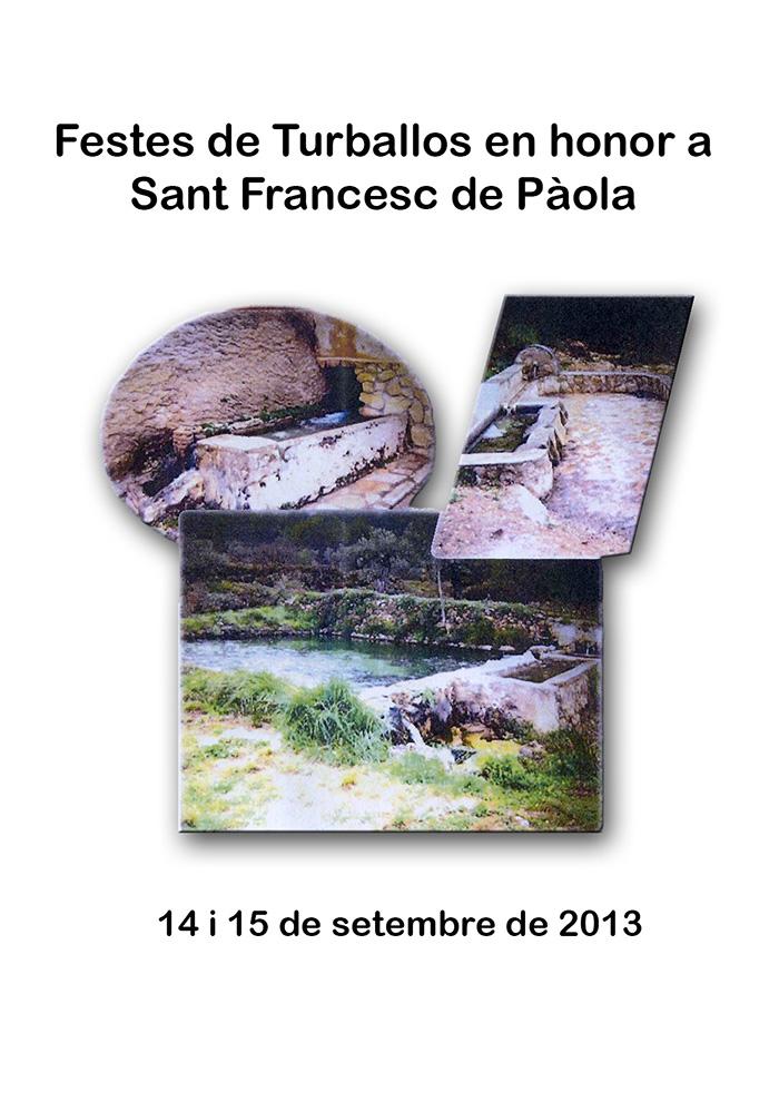 festes patronals de Turballos, en honor a Sant Francesc de Pàola