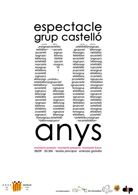 Cartell 60anys