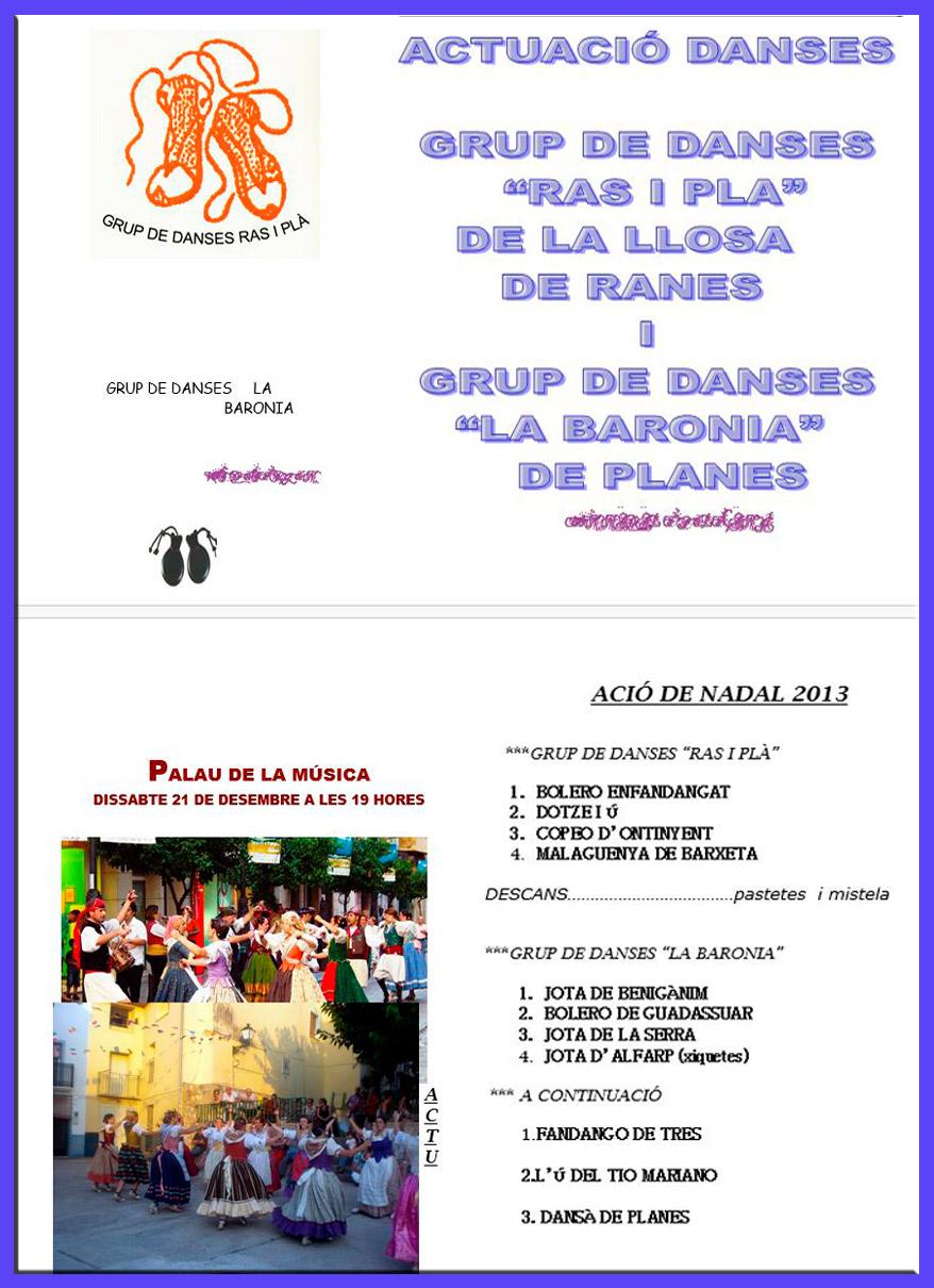Danses Nadal 2013 - Planes de la Baronia - 21-12-2013