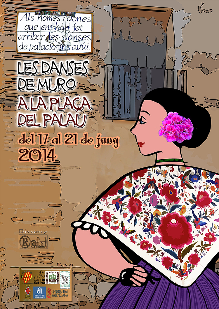 LES DANSES DE MURO AL CARRER I PLAÇA DEL PALAU. PROGRAMACIO 2014: