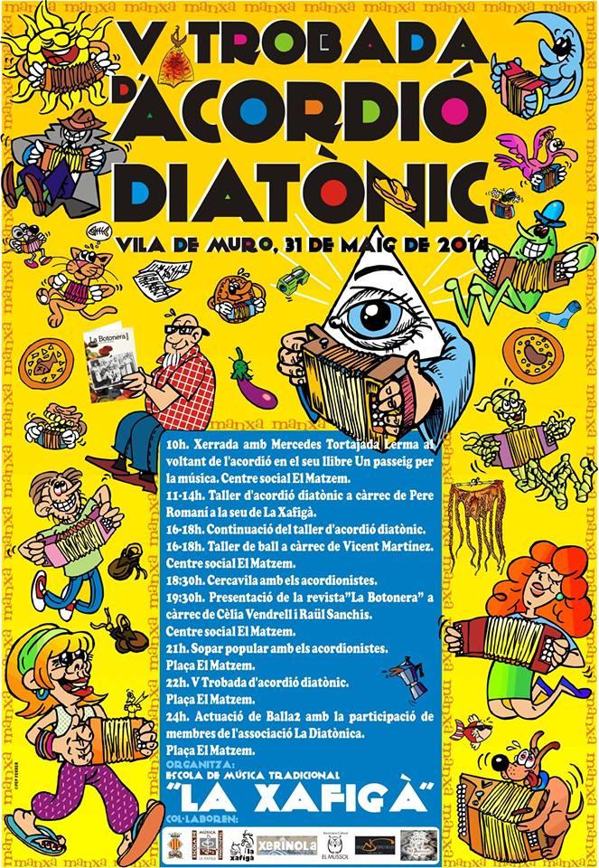 Ciniquena edició de la Trobada d'acordió diatonic a Muro
