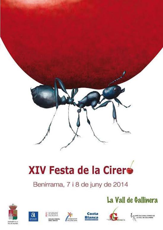 Festa de la Cirera-Benirrama2014