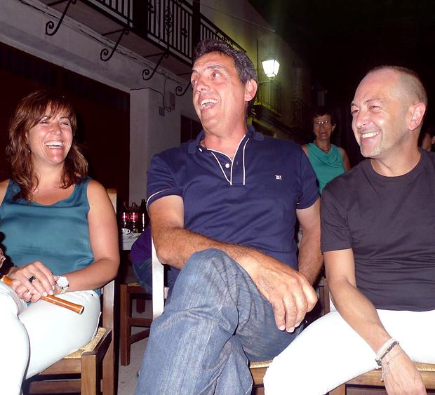 Pep Gimeno 'El Botifarra' ens va fer gaudir d'una gran nit./ Foto Grup de danses Baladre./