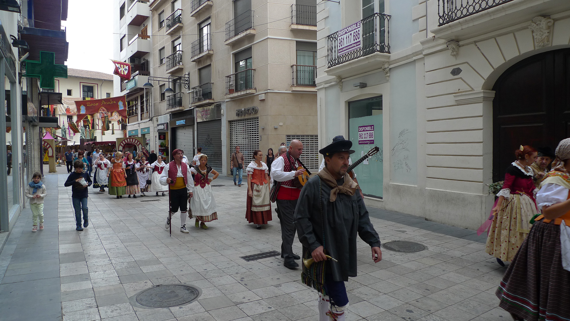 2014-10-5 Baladre a la Fira de Gandia (4)