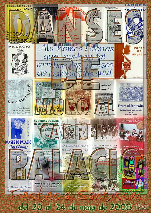 Cartell A3 Palacio 2008