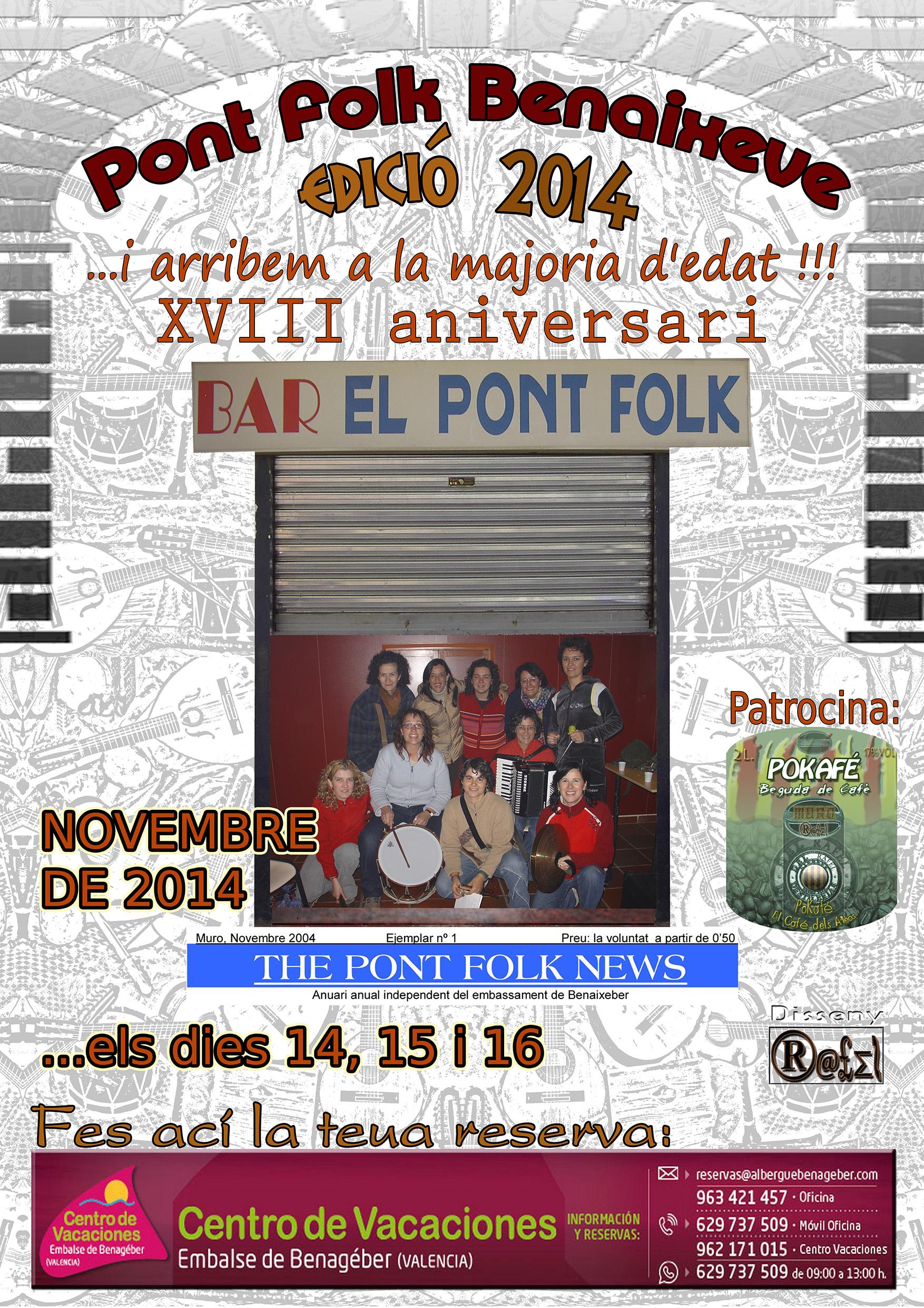pontfolk Benaixeve2014-Cartell