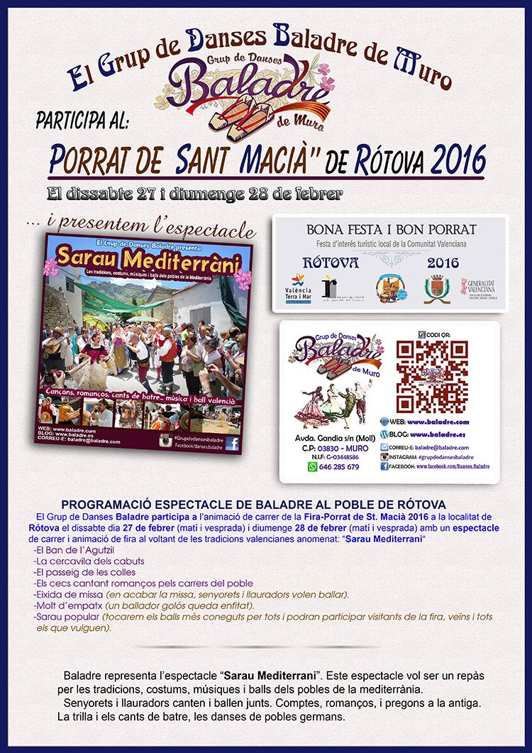 Porrat de St.Macia Rotova2016-750ppp